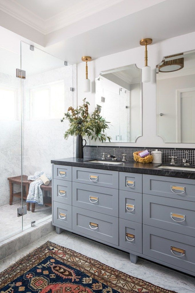 transitional bathroom - Transitional Bathrooms