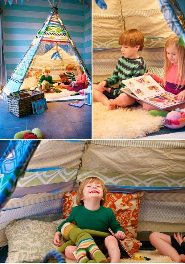 diy indianerzelt f r ihre kinder wollen wir ein kind finden welches ungern ein indianerzelt. Black Bedroom Furniture Sets. Home Design Ideas