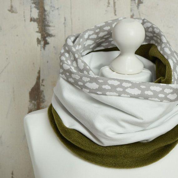 #InfinityScarf #WarmScarf #GiftForHer #snood #WinterScarf #DoubleLoop #FleeceSnood #scarf #ChunkyScarf #FleeceScarf