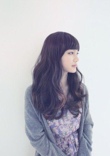 long hair and bangs <3