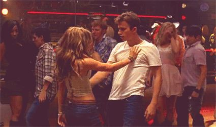 Pin for Later: These 23 Ridiculously Sexy Dance Scenes Will Make You Sweat Feeling very loose. Movie: Footloose
