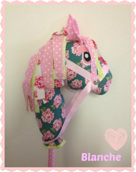 OOAK Hobby Horse (Wooie) #105 Blanche