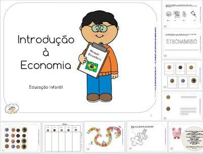 Ensino Domiciliar - APOSTILAS DIGITAIS: JOGOS SISTEMA MONETÁRIO - MOEDAS BRASILEIRAS - Economia