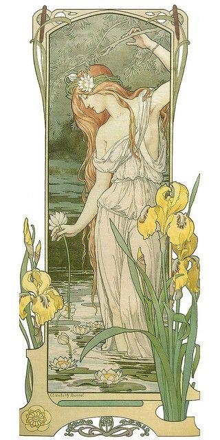 Fleur des Eaux, Alphonse Mucha