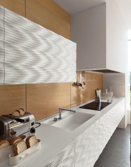 Bizzotto mobili cucina in laccato bianco lucido maori for Mobili cucine moderne componibili