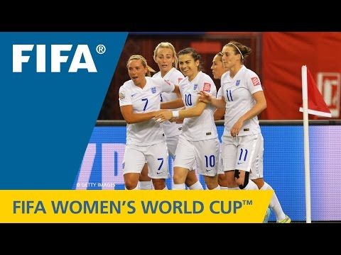HIGHLIGHTS - Wed Jun 17 - Match 36 - Group F - England 2 Colombia 1 - Olympic Stadium Montreal - FIFA Women's World Cup Canada 2015