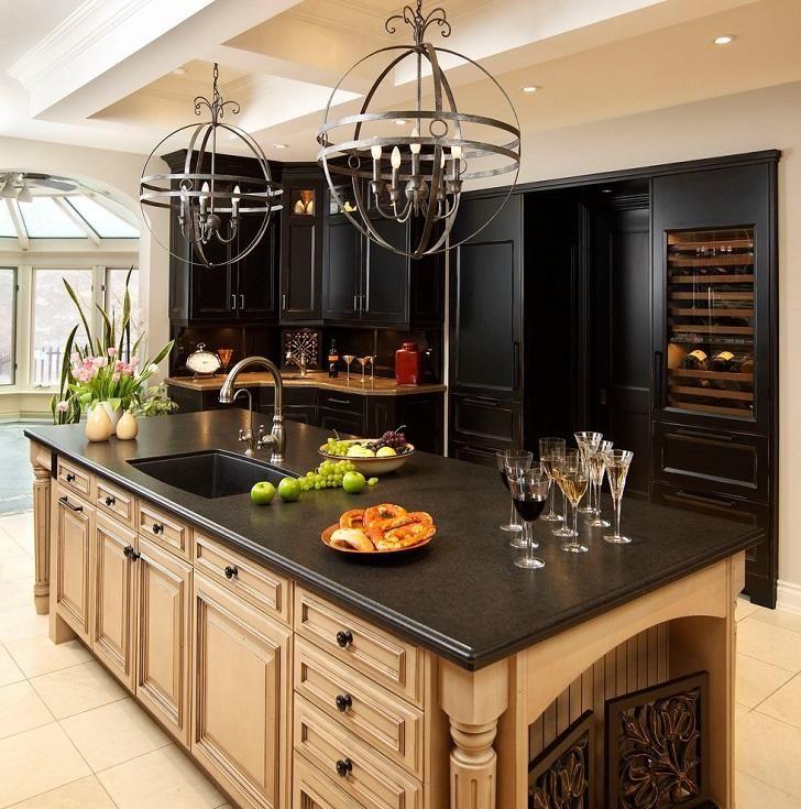 Die besten 25+ schwarzer Granit Arbeitsplatten Ideen auf Pinterest - arbeitsplatte küche granit preis