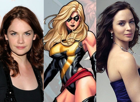 Emily Blunt and Ruth Wilson Up for Ms. Marvel?