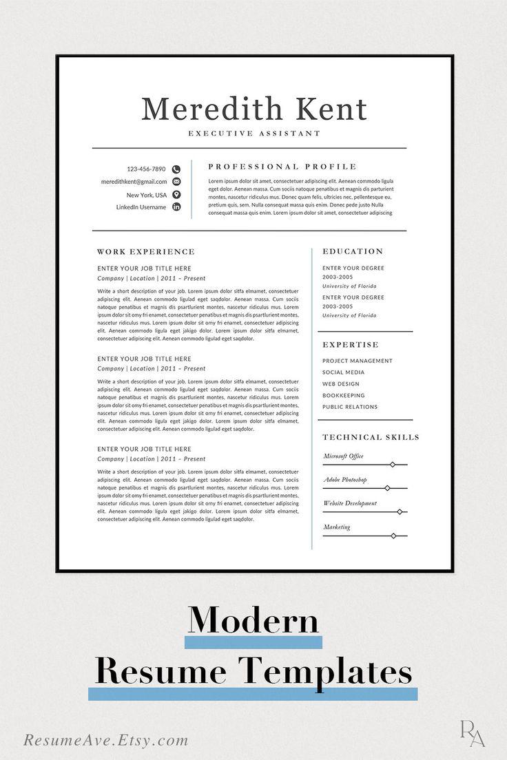 Classic traditional nurse resume template simple executive