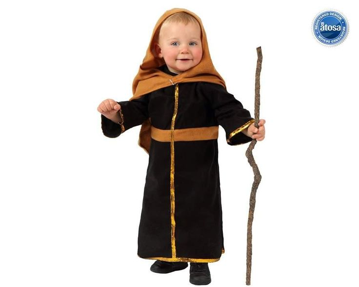 Disfraz de San Jose para Bebes, ideal para el portal de Belén Viviente