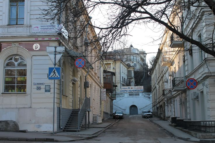 Севастополь  городские лестницы