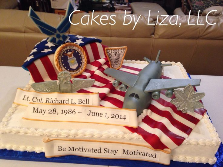 25 Best Images About Military Retirement Cakes On