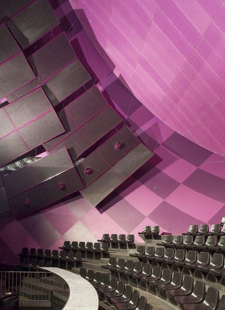 Sistemas de Fachadas | La Luciole, una sala de conciertos que se mezcla con el cielo | http://sistemasdefachadas.com