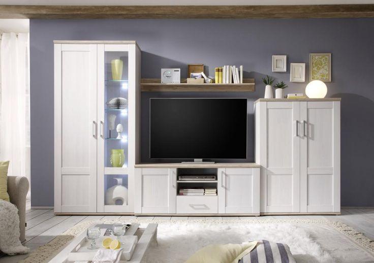 Wohnwand Romance Wohnen Mobel Online Kaufen Und Anbauwand Wohnzimmer