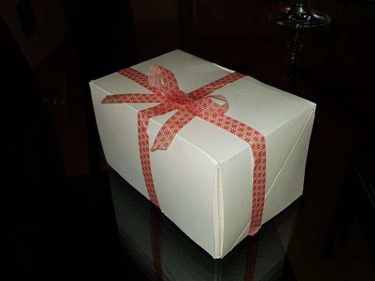 scatola porta biscotti fatta a mano