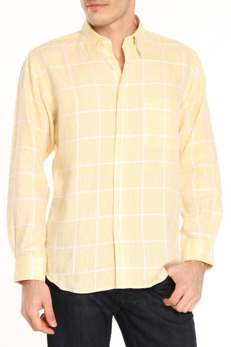 Yannick Dress Shirt In Yellow