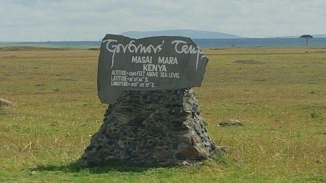 Governors Camp Maasai Mara air strip