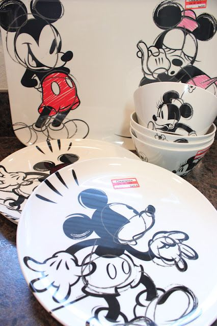 The Disney Diner: Disney Dishes on Sale at Target!!