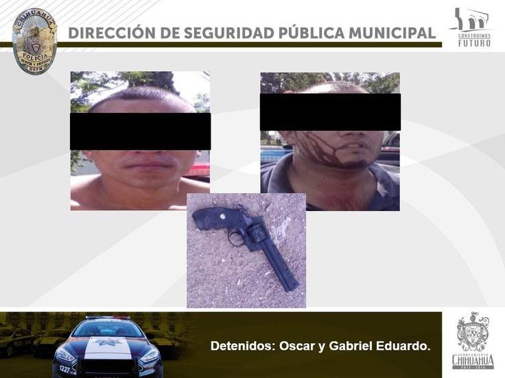 Detienen a dos sujetos, intentaron asaltar una florería al sur de la ciudad   El Puntero