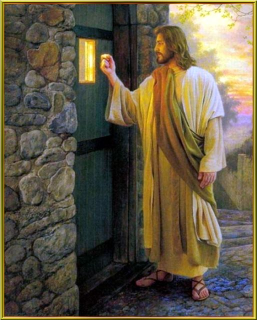 Jesus Christ Is Quot Standing At The Door Please Accept Him