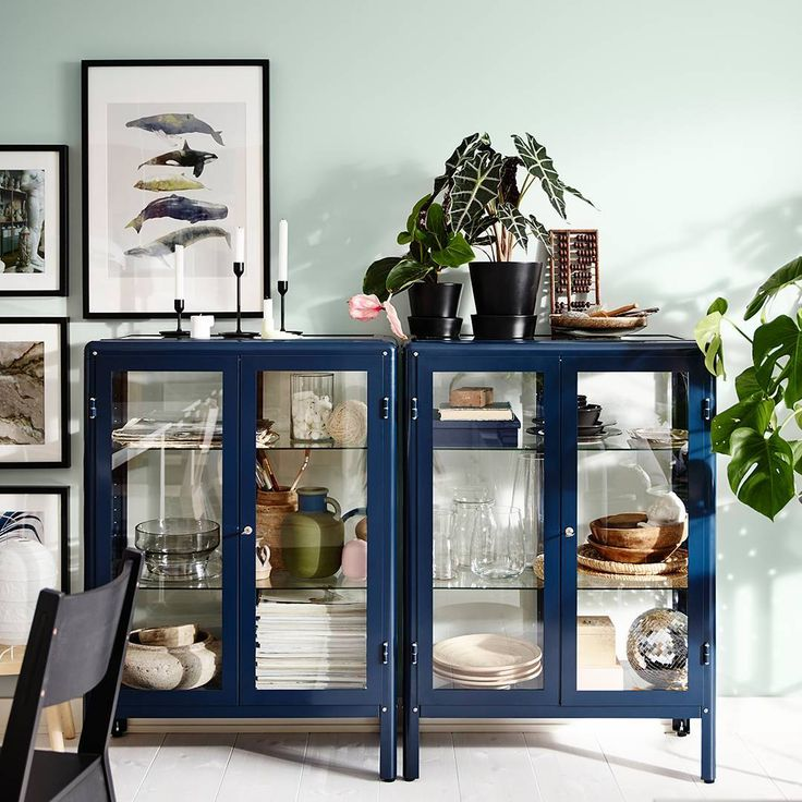 """6,739 Likes, 107 Comments - IKEA UK (@ikeauk) on Instagram: """"Keep organised, while showing off your favourite things. Our FABRIKÖR Glass-door cabinet comes with…"""""""