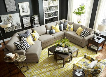 My Kind Of Couch HGTV HomeR Left Cuddler Sectional By Bassett Furniture Customize Your With Over Fabric Options
