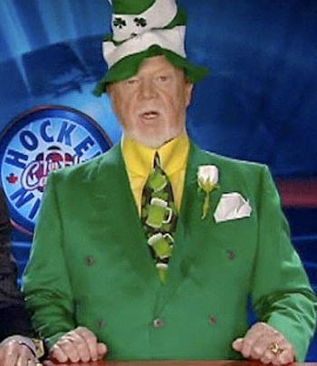 Don Cherry...I so miss Hockey Night in Canada