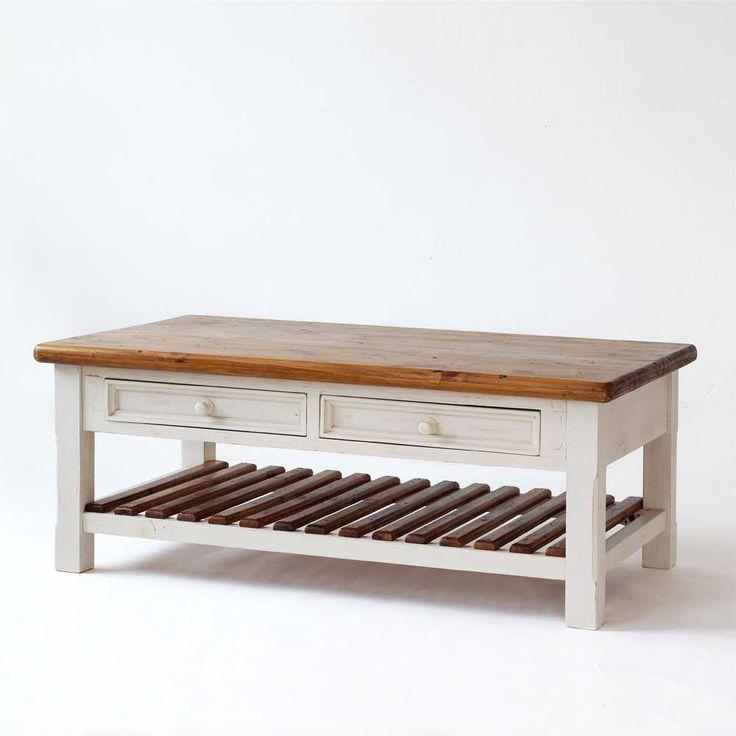 Holz Wohnzimmertisch Im Vintage Look Landhausstil Jetzt Bestellen Unter