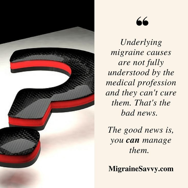 Do you know what a migraine is? Do you know the difference between causes, symptoms and triggers? They are not just the pain phase, they are a whole process. Click here to come and see what I mean. www.MigraineSavvy.com