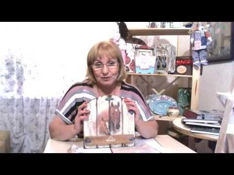 Галина Вакула. Имитация дерева и кованных элементов. Декупаж. Вебинар. - YouTube