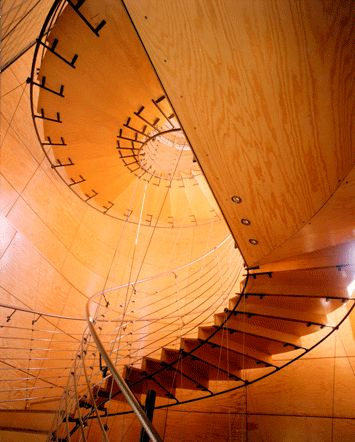Stairs at Moby Dick House - Jyrki Tasa