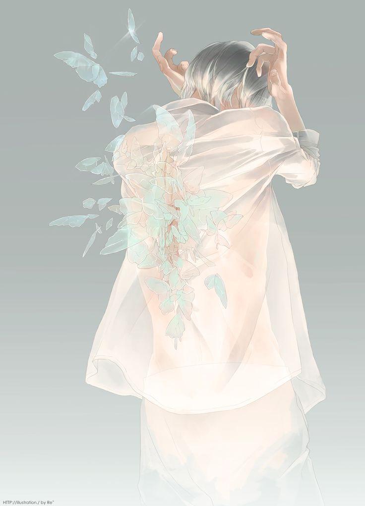 羽化 - Anime / Manga Illustration