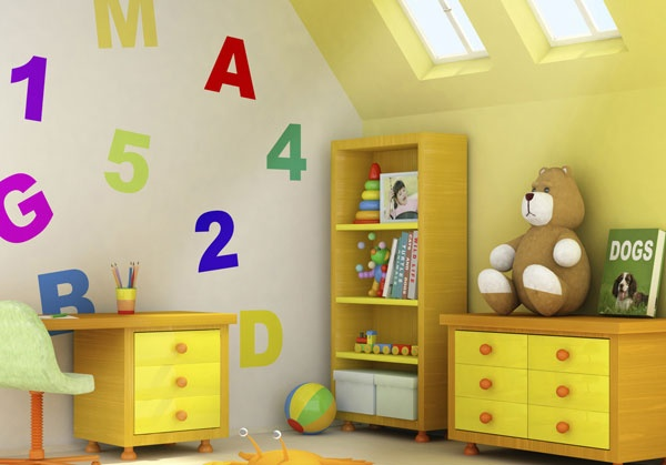 Store in style - storage solutions for the baby's stuff