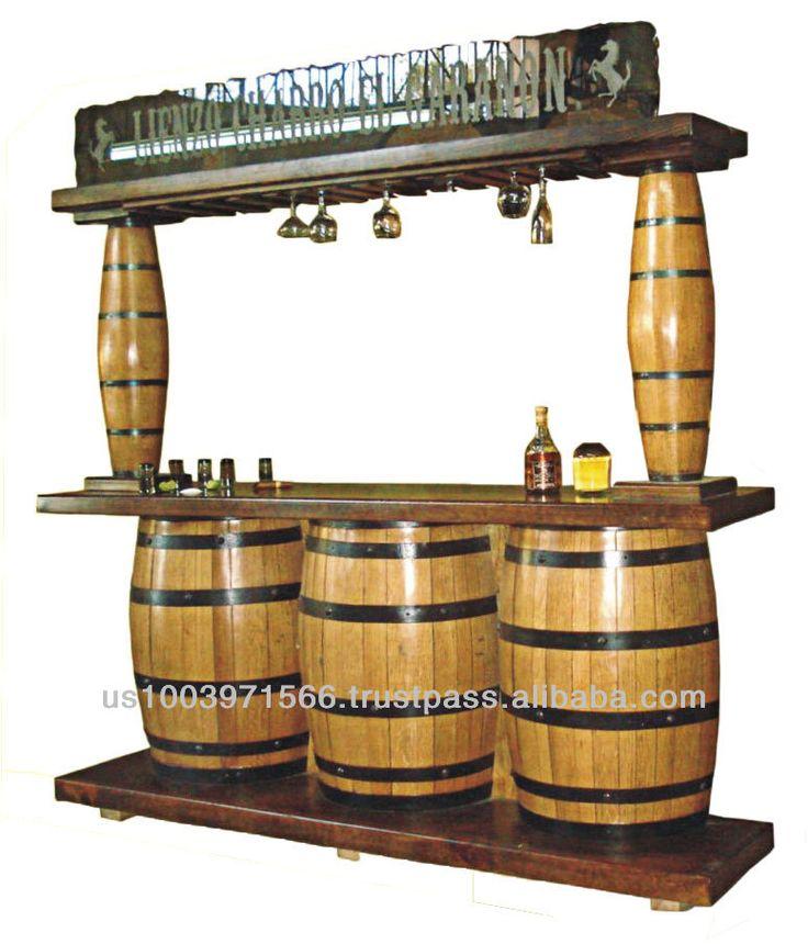 Barrel Bar Barrels And Tequila On Pinterest