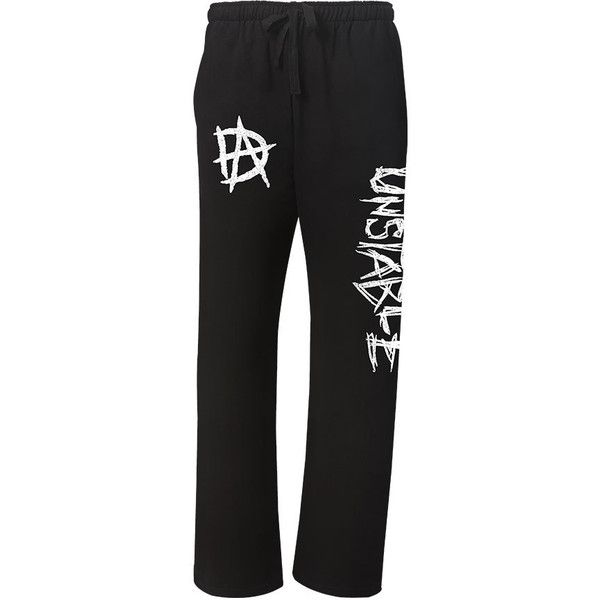 WWE Official Dean Ambrose Merchandise | WWEShop.com ❤ liked on Polyvore featuring wwe e pants