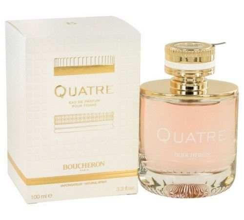 Quatre Perfume by Boucheron 3.3 oz Eau De Parfum Spray SEALED NEW IN BOX #Boucheron
