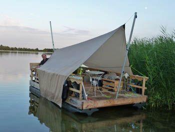 Floatlands. To explore my 'lake'..
