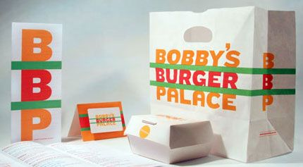 Bobby's Burger Palace design by Pentagram & Rockwell Group