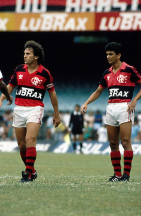 Zico and Bebeto - Clube de Regatas do Flamengo