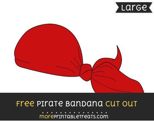 Pirate bandana template - photo#47