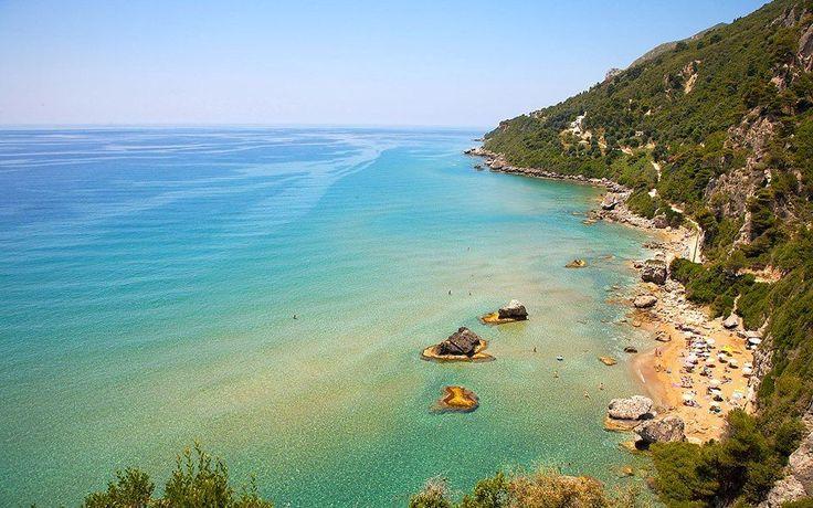 #Myrtiotissa beach in #Corfu, #Greece