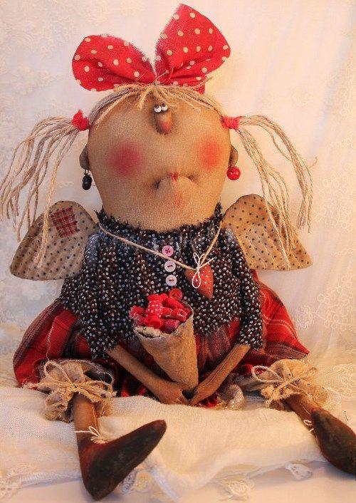 Кукла: Ангел сладкоежка Автор: Татьяна Козырева