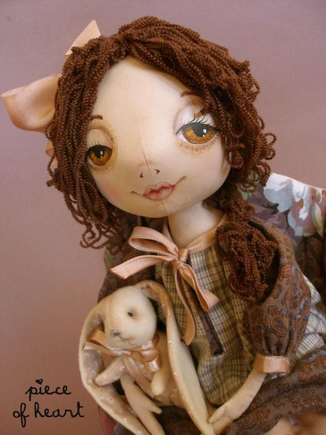 "Мастер-класс ""Кукла моей мечты"" - Ярмарка Мастеров - ручная работа, handmade"