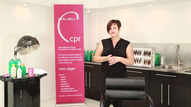 Malibu Professional CPR Colour Pigment Remover for Professional Colourists. NOW available in Hair Mart stores!