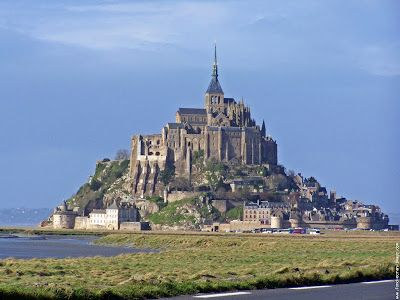 TOP WORLD TRAVEL DESTINATIONS: Mont Saint-Michel in Normandy, France