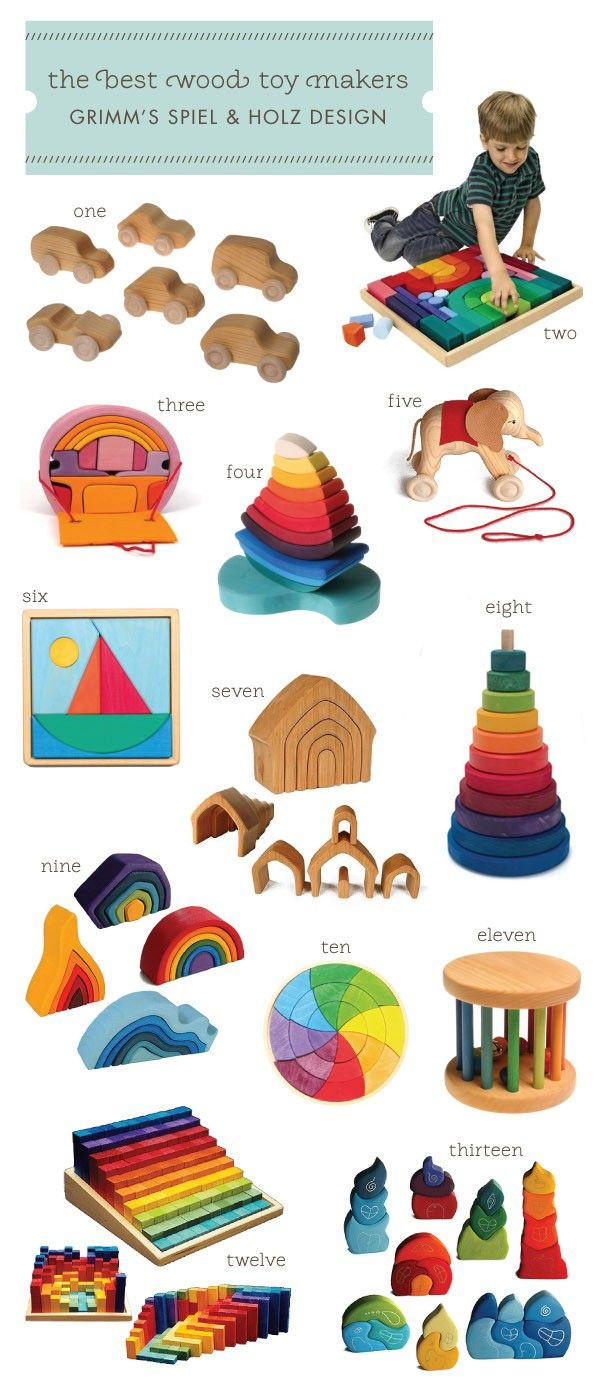 The Best Wooden Toys - Grimm's Speil & Holz Design