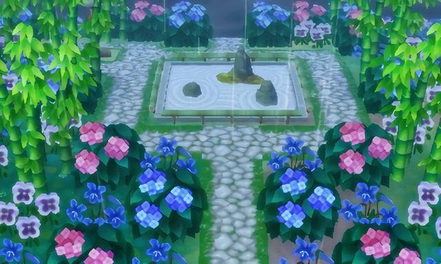 Caesura's zen garden 🌿🍃 | Qr codes | Animal crossing ...