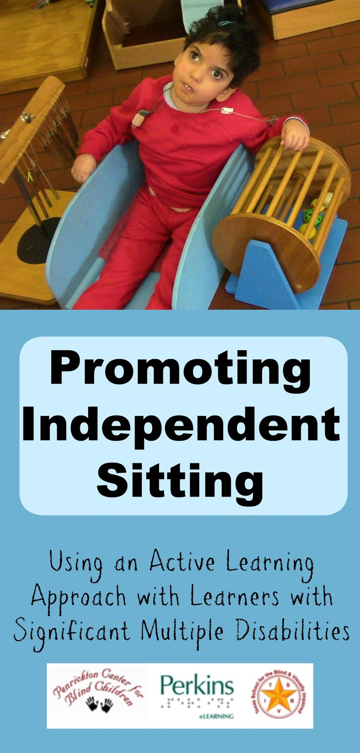 Promoting independent sitting using an Active Learning approach with learners with significant multiple disabilities