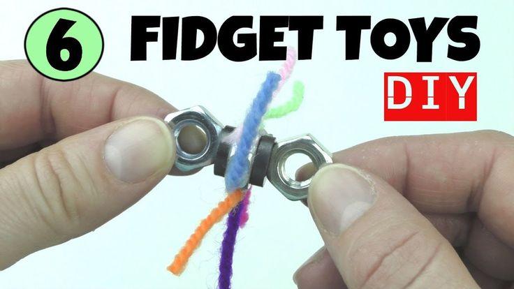 6 COOL DIY FIDGET TOYS - DIYS - HOW TO MAKE EASY TOYS FOR ...
