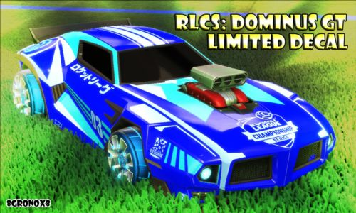 LIMITED-Sky-Blue-RLCS-Dominus-GT-Decal-PC-Rocket-League-Steam